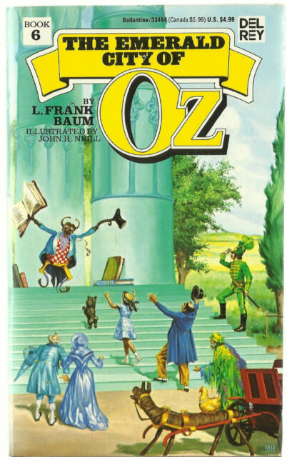 The Emerald City of Oz by L Frank Baum pb # 6 in Series