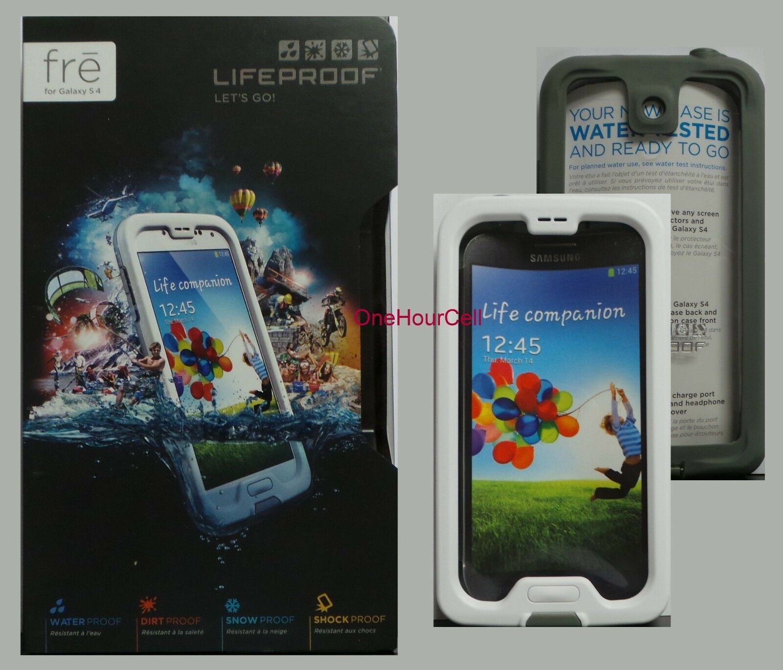 Lifeproof Fre Case For Samsung Galaxy S4 1802 02 Authentic Ebay