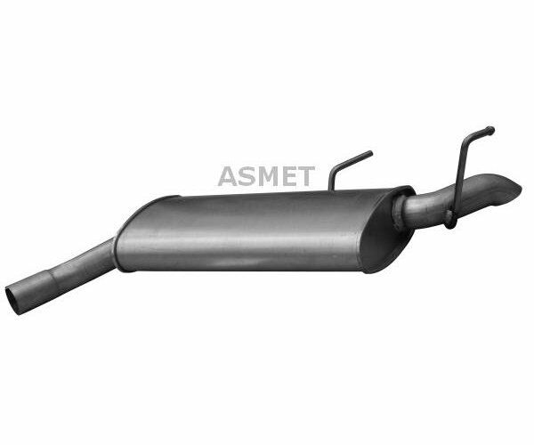 ASMET End Silencer 05.178