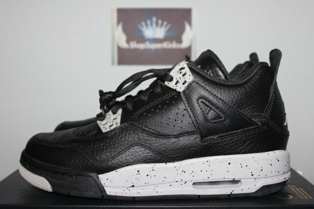 Nike Air Jordan IV 4 Retro TECH GREY OREO 5.5