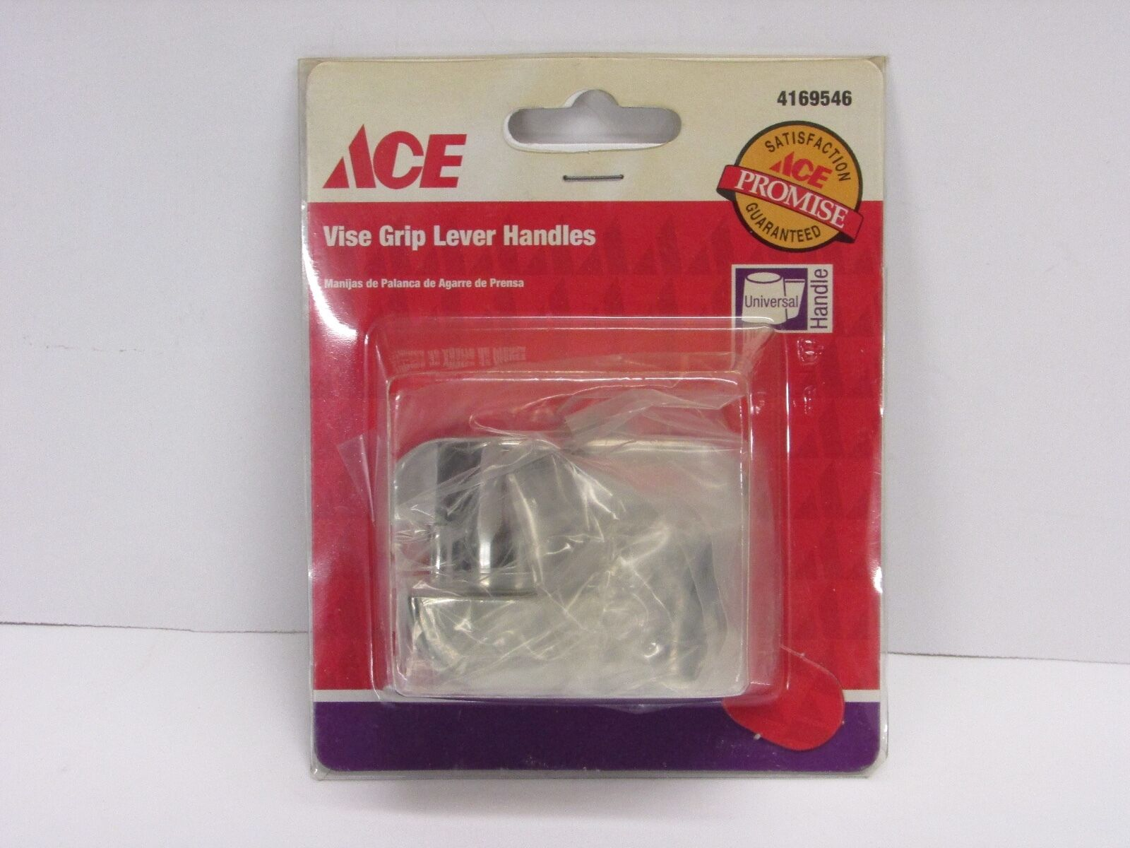 ACE Lever Universal Faucet Handle White Chrome | eBay