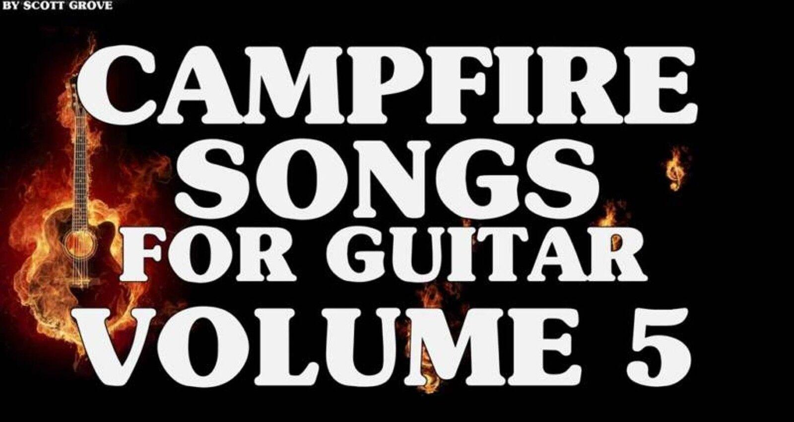 Campfire Songs For Guitar Volume 5 Dvd Lessons Jimmy Buffett Ccr