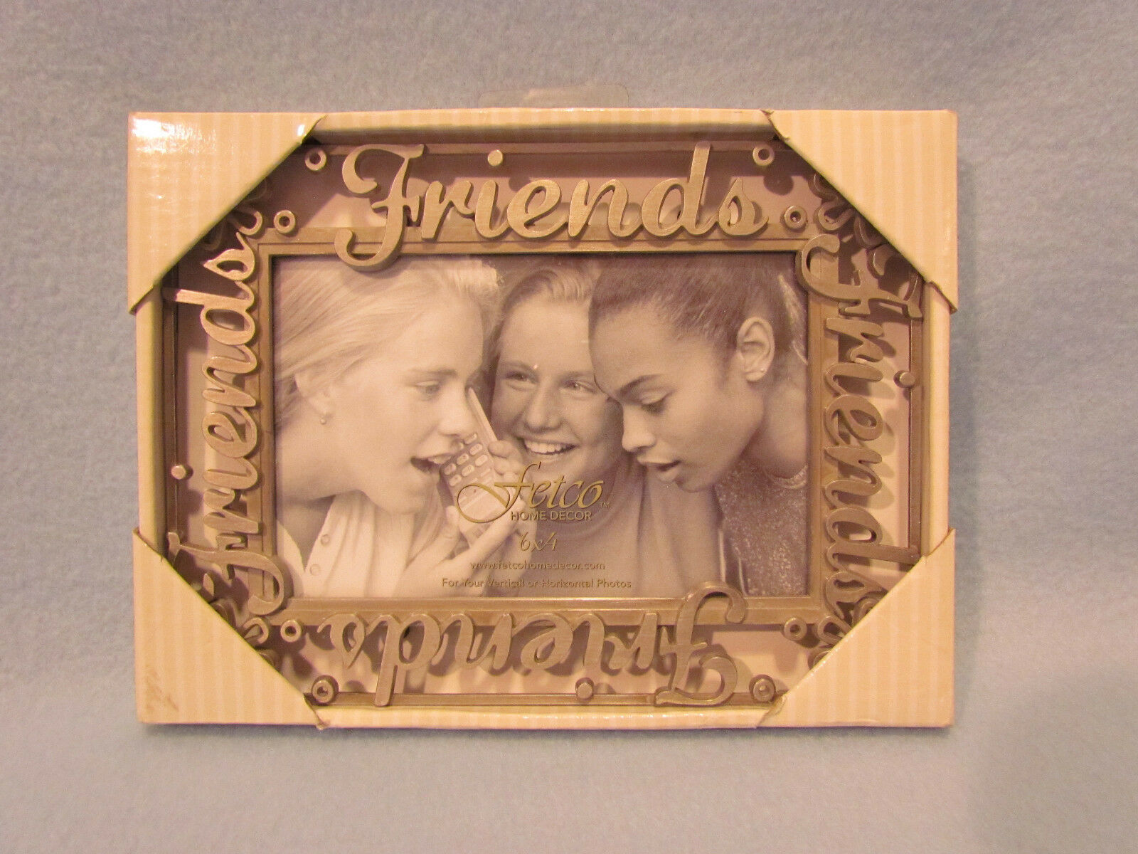 Fetco home decor friends metal pewter 4x6 picture photo frame picture 1 of 3 jeuxipadfo Gallery