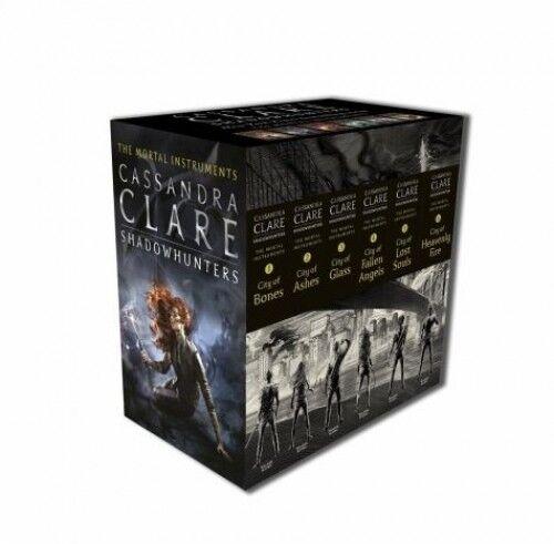 The Mortal Instruments 1-6 Slipcase von Cassandra Clare (Taschenbuch) NEU