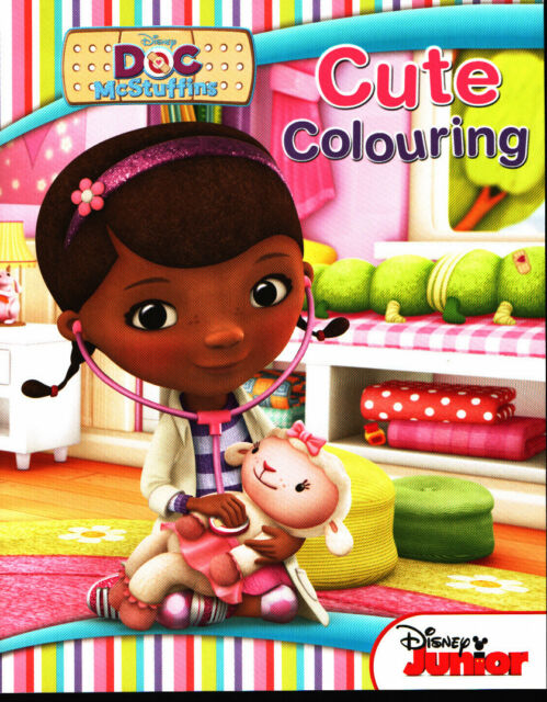 Disney Junior - Doc McStuffins Cute Colouring Book