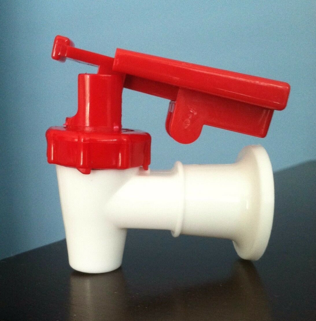 Sunbeam Water Cooler Faucet /valve Red W/child Safety Tomlinson ...