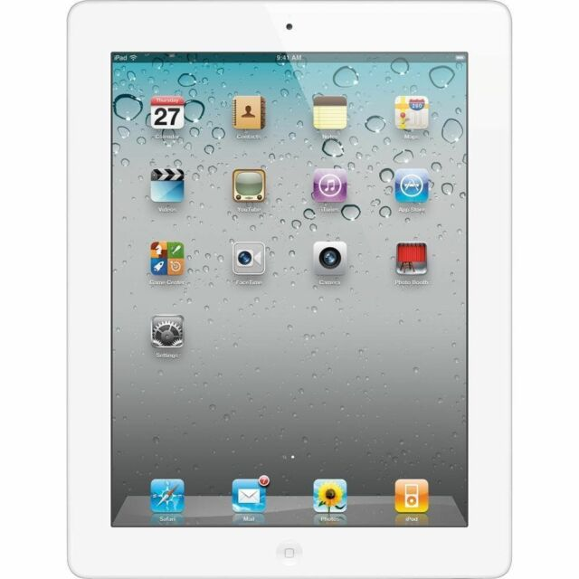 Apple iPad 2nd Generation WiFi Tablet White 32GB Brand New Sealed