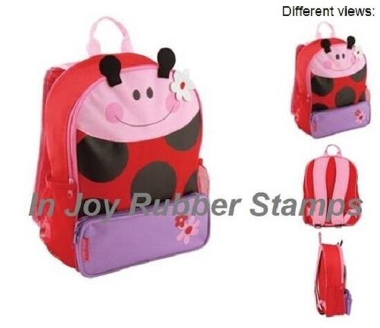 254bbe7238e7 Ladybug Sidekick Backpack by Stephen Joseph - SJ102060