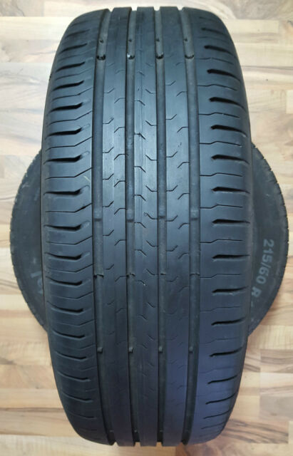 2 x Continental EcoContact 5 215/60 R16 95V (Intr.Nr H1218)