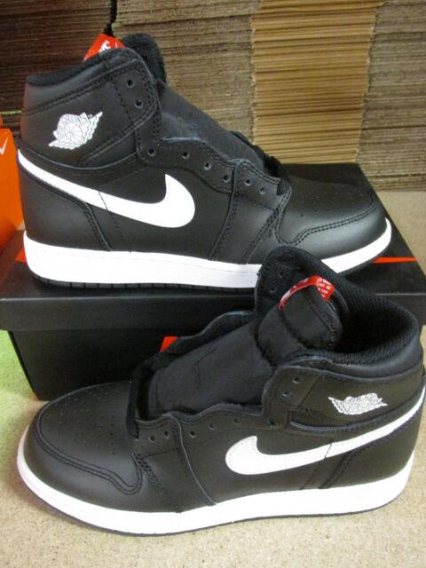 Nike Air Jordan 1 Retro High Og BG Hi Top Trainers 575441 Sneakers Chaussures 6 ONwCA9xYxu