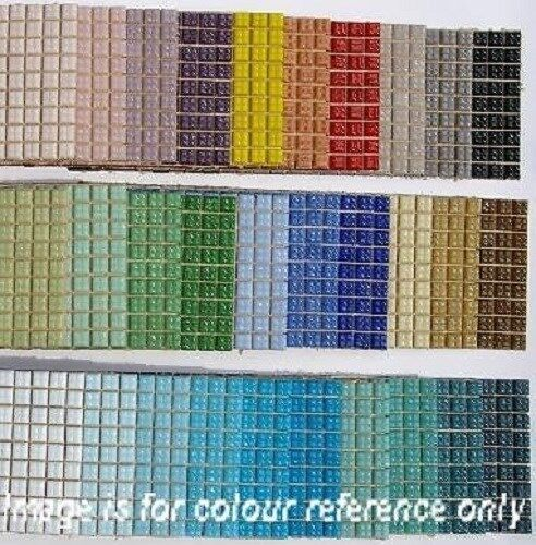 540 or 270 craft vitreous glass mosaic tiles 1x1cm 30 for Mosaic tile for crafts
