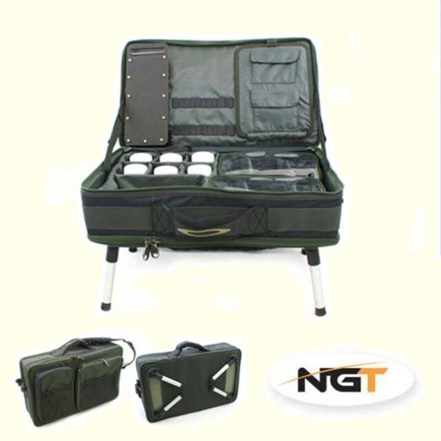 Carp Fishing Tackle Bivvy Table Box System Carryall Bag Rig Station (588)