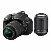 Nikon Digital Camera D5300 AF-P 18-55 & AF-P DX N...