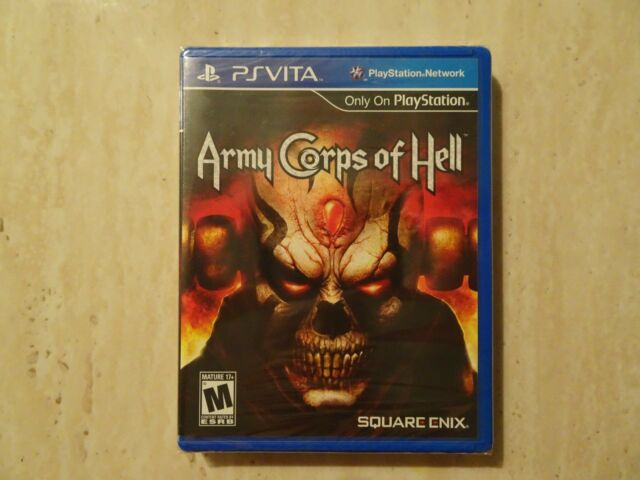 Army Corps of Hell (Sony PlayStation Vita, 2012) NEW