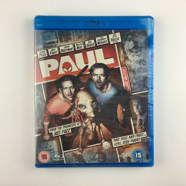 Paul (Reel Heroes Edition) (Blu-ray, 2013)*New & Sealed*