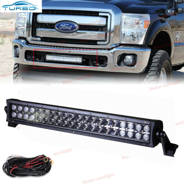 Fit ford f150 2009 14 hidden bumper grille dual row off road led fit ford f150 2009 14 hidden bumper grille dual row off road led combo aloadofball Gallery