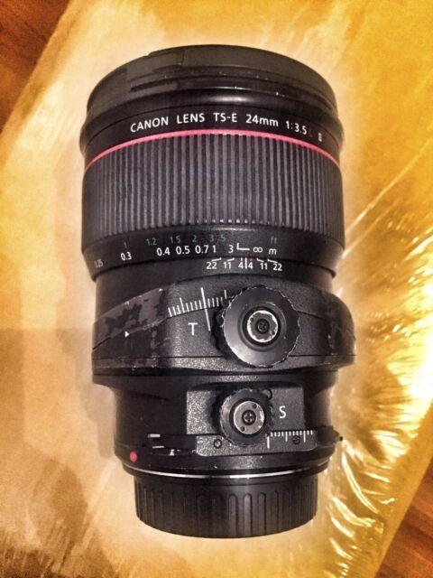 CANON TS-E 24mm 1:3.5 L II TILT SHIFT LENS - TSE f/3.5L 24 mm