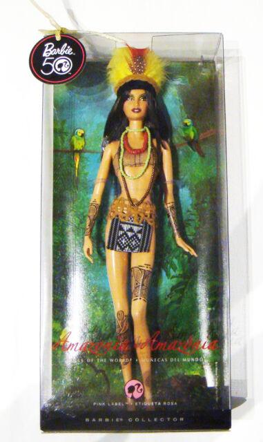 Barbie 2009 Amazonia South America Barbie Doll NRFB xb143