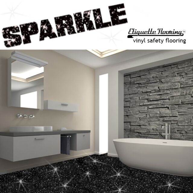 black glitter bathroom floor tiles black sparkle safety flooring bathroom floor vinyl lino 22768