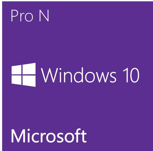 Windows 10 Pro N Original  key- Clave  Multilenguage 32/64 bits  Retail