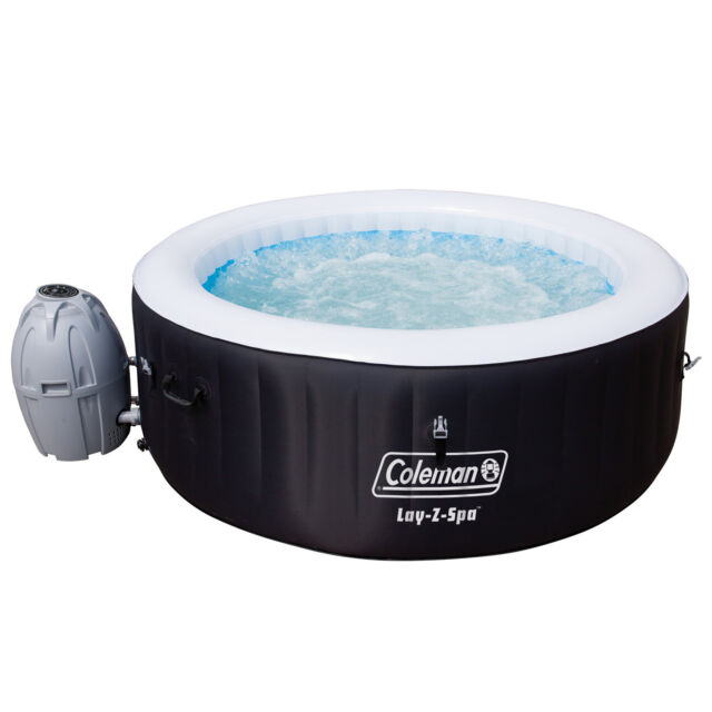 Coleman Saluspa 4-person Inflatable Spa Hot Tub With Accessories ...
