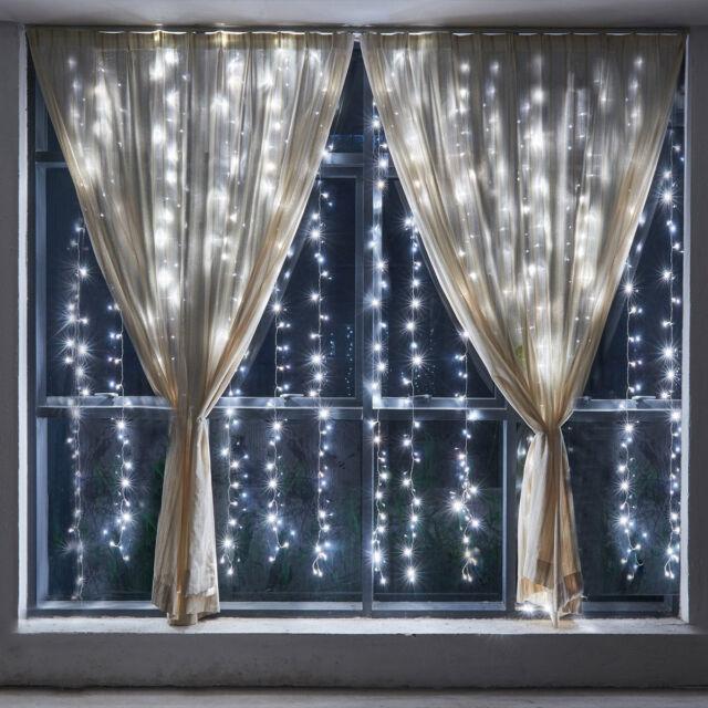 Lifewit 98ftx98ft 600 LED String Fairy Wedding Curtain Lights Christmas Decor