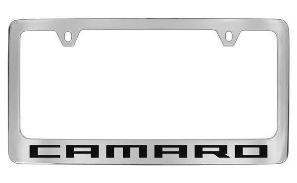 Chevrolet Camaro Chrome Plated Metal License Plate Frame Holder   eBay