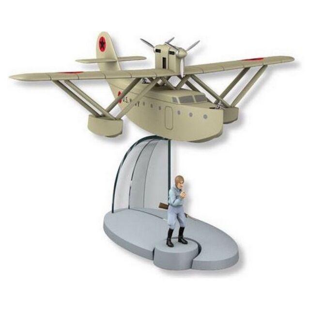 Tintin Figure collection The Seaplane Jo, Zette and Jocko Nº58 29558 (2015)