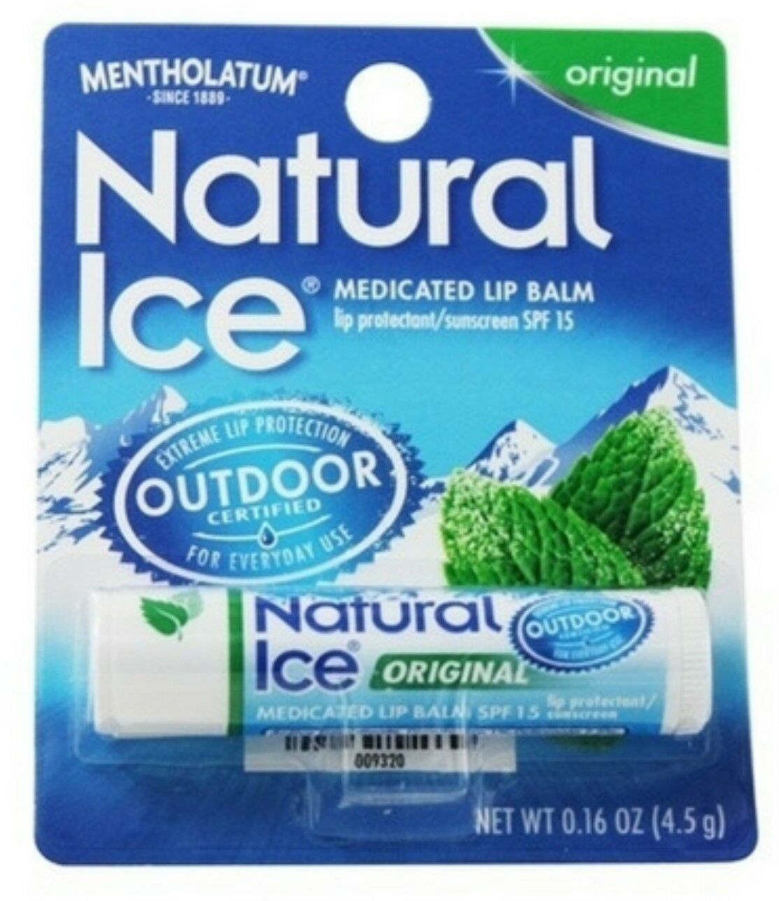 Mentholatum Natural Ice Lip Balm Original SPF 15 1 Each SanRe Organic Skinfood - Sweet Lips Soothing Lip Balm - 0.25 oz. (pack of 6)