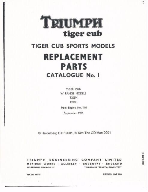 Triumph Parts Manual - Wiring Diagram •