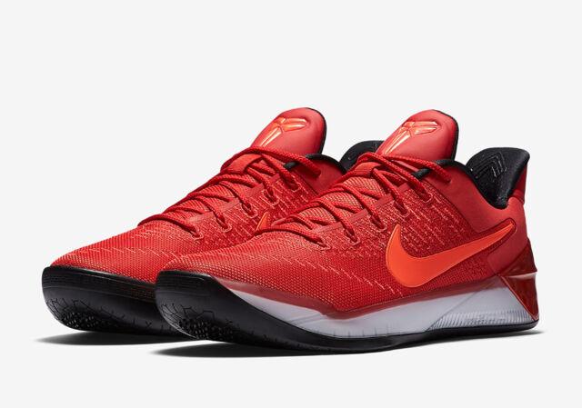 Nike Men's Kobe A.D. University Red Crimson Black White 852425-608