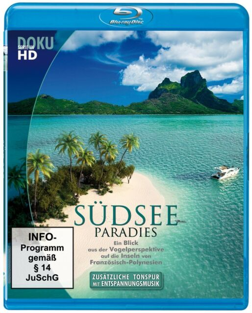 Südsee Paradies - Inseln von Polynesien [Infoprogramm] (Blu-ray) NEU+OVP