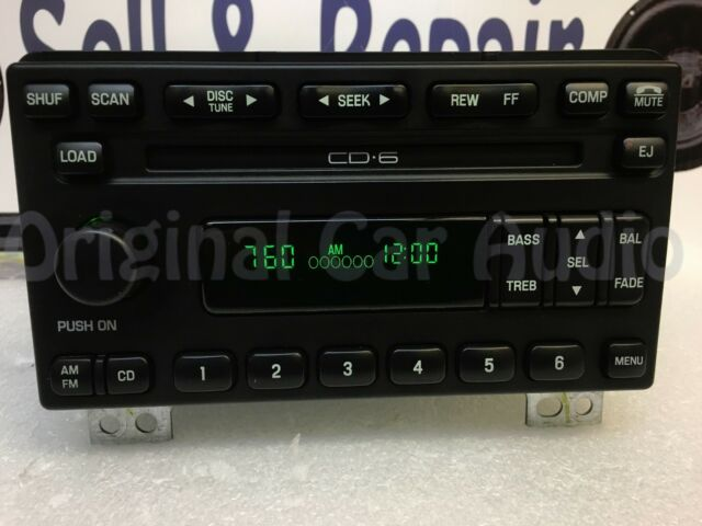 03 04 Ford Expedition Radio 6 Disc Cd Face Plate 2l1f18c815ed Rhebay: 2003 Ford Explorer Radio Cd Player At Elf-jo.com