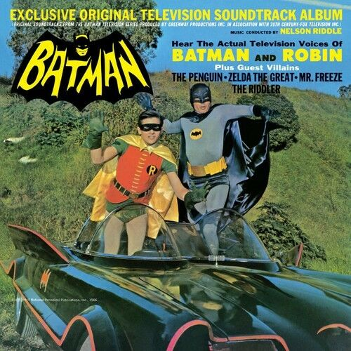 Nelson Riddle - Batman (Original Soundtrack) [New Vinyl]