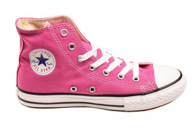 Converse giovent CT All Stars Scarpe Da Ginnastica 351873 C Rosa Taglia UK 1 RRP 34 BCF82