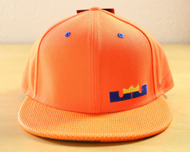New Nike Lebron XII 12 True Adjustable Snapback Hat Meridian Crimson  658005-853