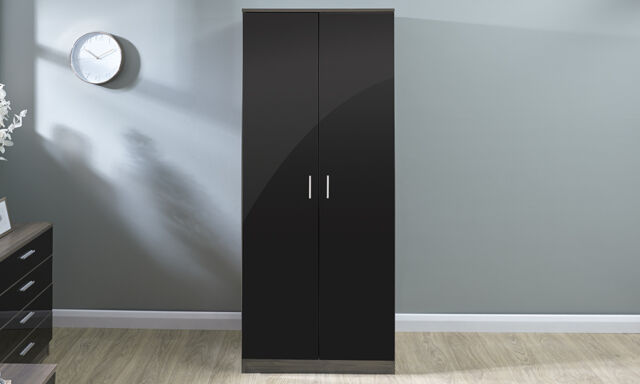 bedroom furniture black gloss. Picture 2 Of 4 Bedroom Furniture Black Gloss