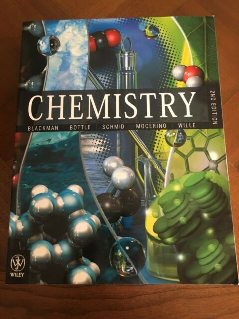 Chemistry by Steven E. Bottle, Ute Wille, Siegbert Schmid, Allan Blackman,...
