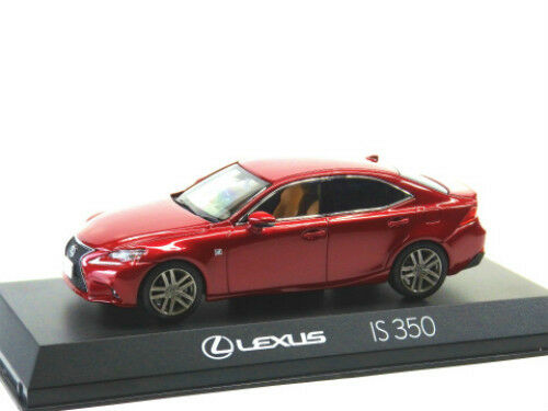 Kyosho Original Ks03658rm Lexus Is350 F Sport Red Mica Crystal Shine 1/43  Scale