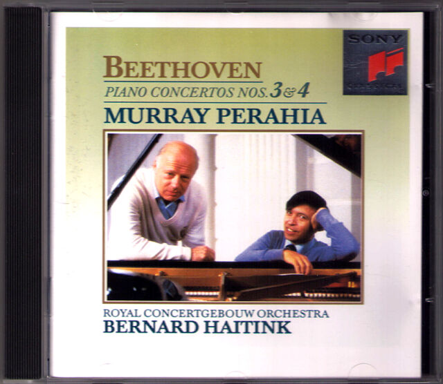 Murray PERAHIA & HAITINK: BEETHOVEN Piano Concerto No.3 & 4 Klavierkonzerte CD