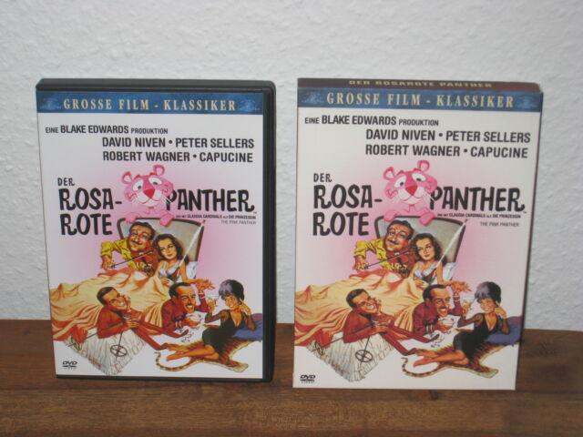 Der Rosarote Panther DVD (Grosse Film Klassiker) Pappschuber - Selten & OOP