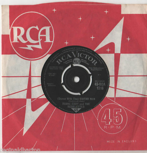 "Duane Eddy - Guitar Man 7""Single 1962"