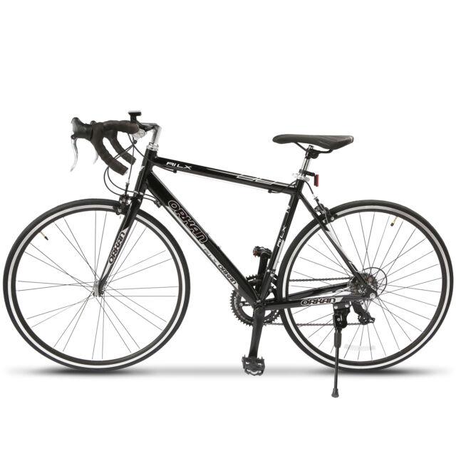 Aluminum Frame 700c X 54c Shimano 14 Speed Road Bike Racing Bicycle ...