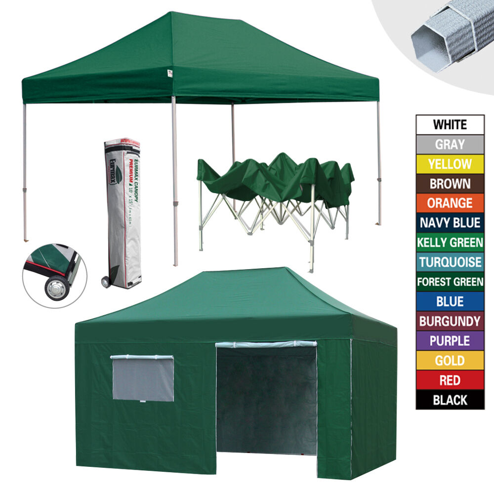 Picture 8 of 8  sc 1 st  eBay & Heavy Duty Waterproof 10x15 EZ Pop up Commercial Canopy Outdoor ...