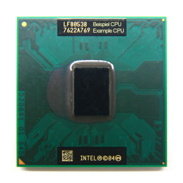 Intel Core 2 Duo T5500 SL9SH 1.66GHz/2MB/667MHz FSB Socket/Sockel M 478-Pin CPU