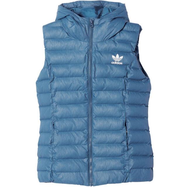 82a319a4a385 adidas Originals Ladies-vest Down Vest Winter Vest Slim Vest Quilted ...
