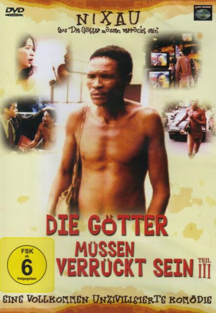 DVD - Die Götter müssen verrückt sein - Teil III  (NEU, in Folie eingeschweisst)