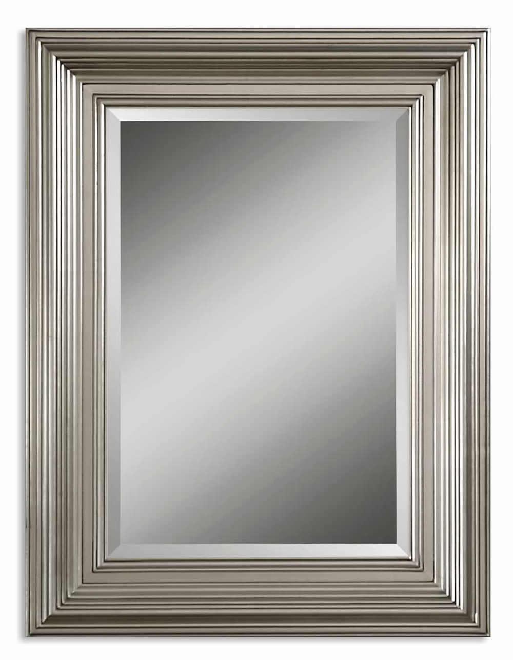 Uttermost 14133 B Mario Mirror Silver Frame 30x40   eBay