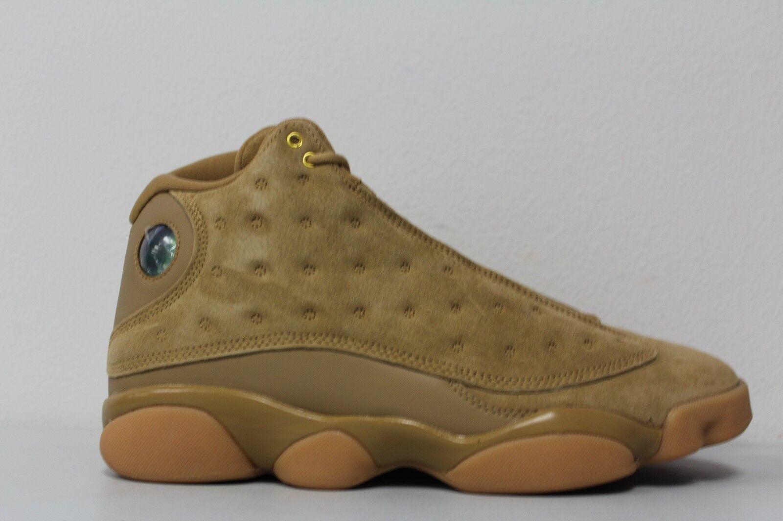 Air Jordan 13 Retro Wheat stores XIII AJ13 get men sneakers Lowest price NEW gold brown 414571-705
