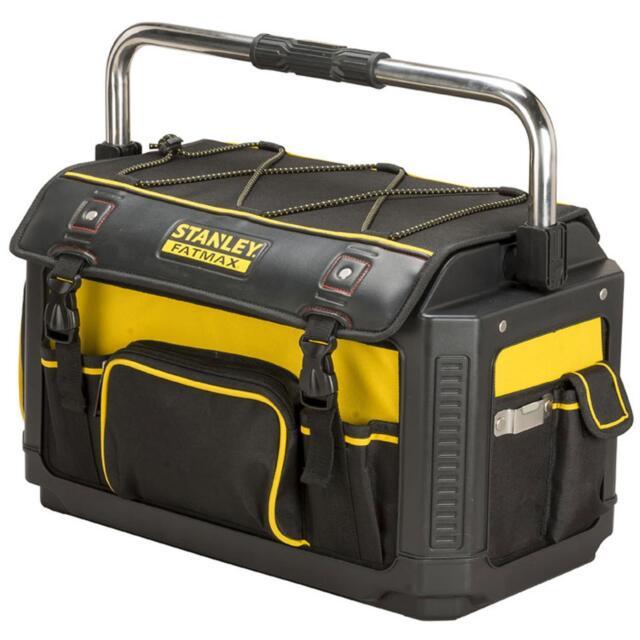 Stanley Werkzeugtrage FatMax Werkzeugtasche mit Schutzhaiube, 600 Denier Nylon